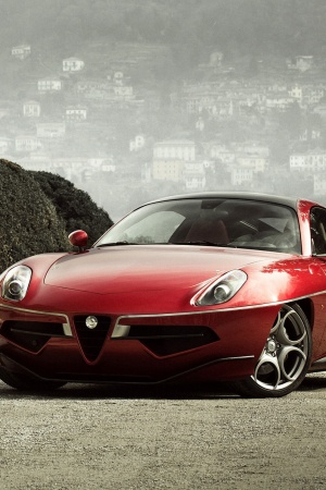 Alfa Romeo Disco Volante Touring 2013 Mobile Wallpaper