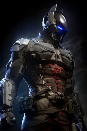 Batman Arkham Knight Batsuit Mobile Wallpaper