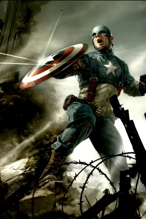 Captain America The First Avenger Mobile Wallpaper