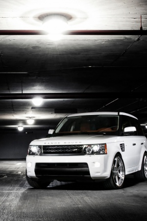 Range Rover Dark Mobile Wallpaper