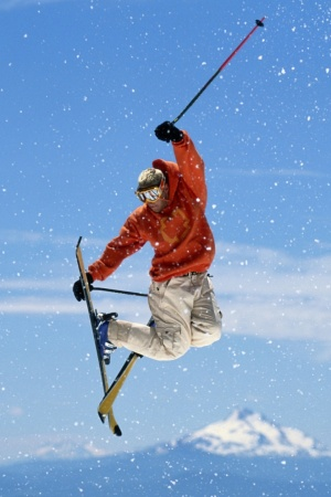 Ski Freestyle Mobile Wallpaper