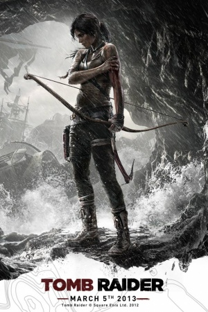 Tomb Raider Lara Croft 2013 Mobile Wallpaper