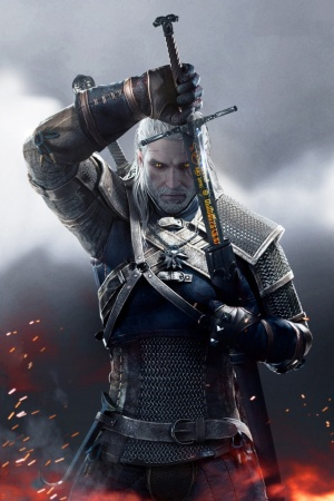 Witcher 3 Wild Hunt Geralt 2015 Mobile Wallpaper