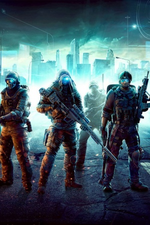 Ghost recon city soldiers Mobile Wallpaper