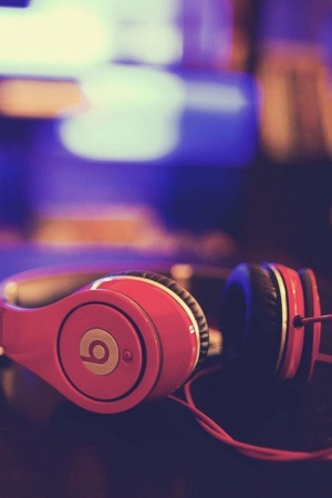 Headphones tablet Mobile Wallpaper
