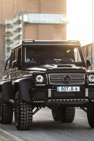Mercedes benz gelandewagen Mobile Wallpaper