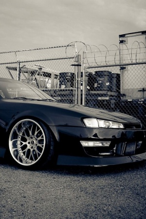 Nissan silvia wheels Mobile Wallpaper