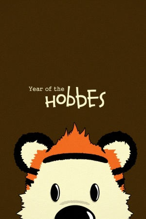 Calvin Hobbes Mobile Wallpaper
