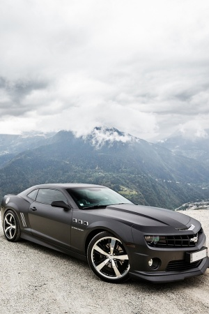 Chevrolet Camaro SS Mobile Wallpaper