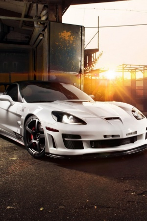 Chevrolet Corvette C6 ZR1 Tripple X Mobile Wallpaper