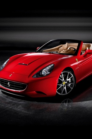 Ferrari California Mobile Wallpaper