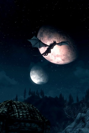 Skyrim Mobile Wallpaper