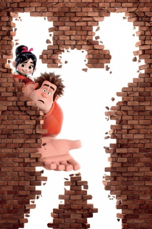 Wreck It Ralph Animation Movie Mobile Wallpaper
