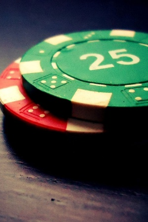 Poker chips game Mobile Wallpaper
