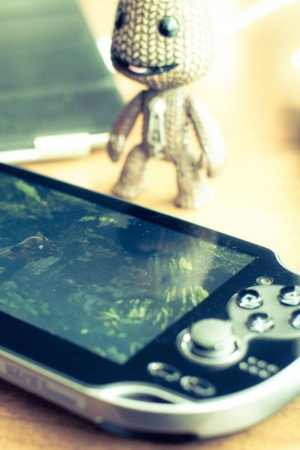 Sony ps vita littlebigplanet Mobile Wallpaper