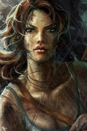 Tomb raider lara croft game Mobile Wallpaper