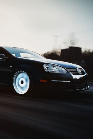 Volkswagen jetta mk5 car Mobile Wallpaper