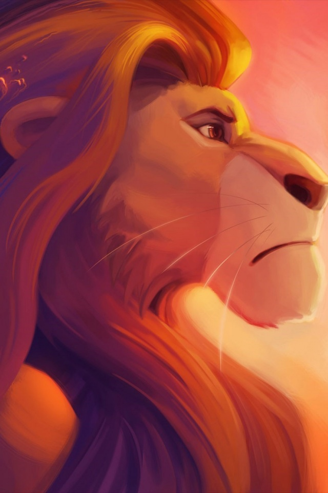 The Lion King Simba Mobile Wallpaper