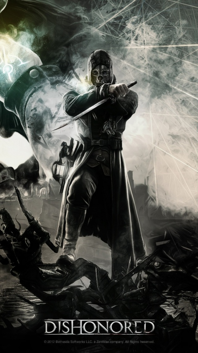 Dishonored Video Game Mobile Wallpaper Mobiles Wall