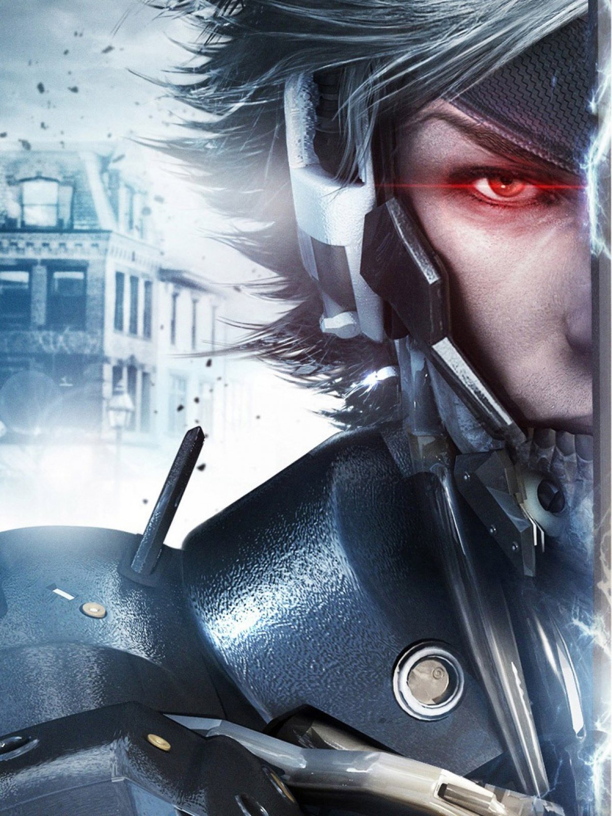 raiden metal gear rising revengeance mobile wallpaper - mobiles wall