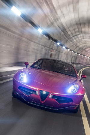 Alfa Romeo Disco Volante Mobile Wallpaper