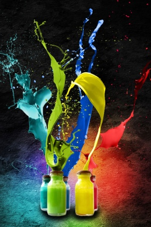 Colors Art Mobile Wallpaper