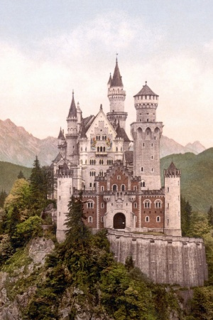 Neuschwanstein Castle Mobile Wallpaper