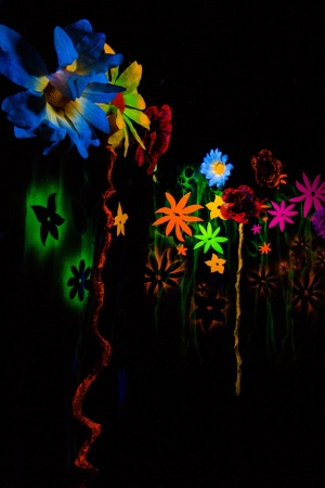 Art flowers dark colorful Mobile Wallpaper