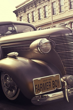 Car vehicle vintage luxury Mobile Wallpaper