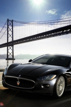 maserati granturismo Mobile Wallpaper