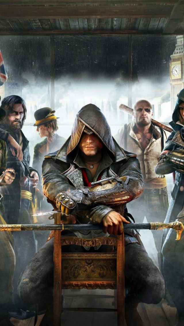 Assassins Creed Syndicate Mobile Wallpaper Mobiles Wall