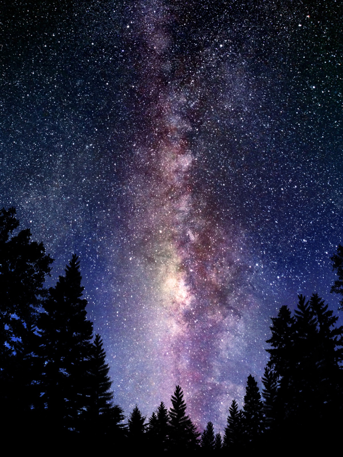 the milky way galaxy mobile wallpaper - mobiles wall