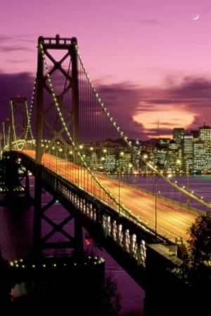 Bay Bridge San Francisco Mobile Wallpaper