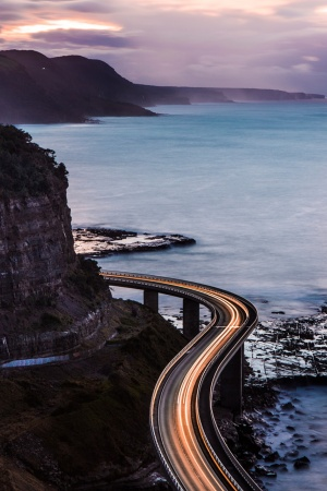 Coastal Drives Mobile Wallpaper
