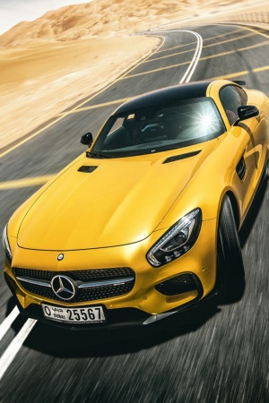 Mercedes Benz AMG GT S Mobile Wallpaper