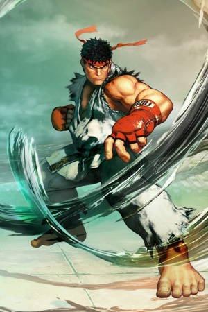 Ryu Street Fighter V Mobile Wallpaper