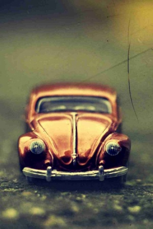 Volkswagen Beetle Toy Mobile Wallpaper