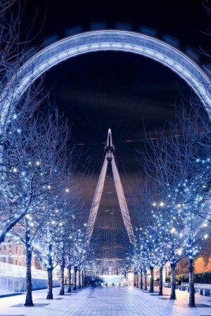 london eye Mobile Wallpaper