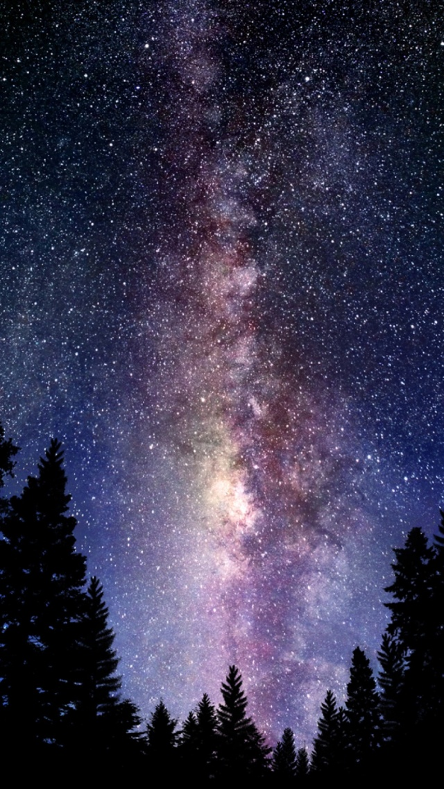 The Milky Way Galaxy Mobile Wallpaper Mobiles Wall