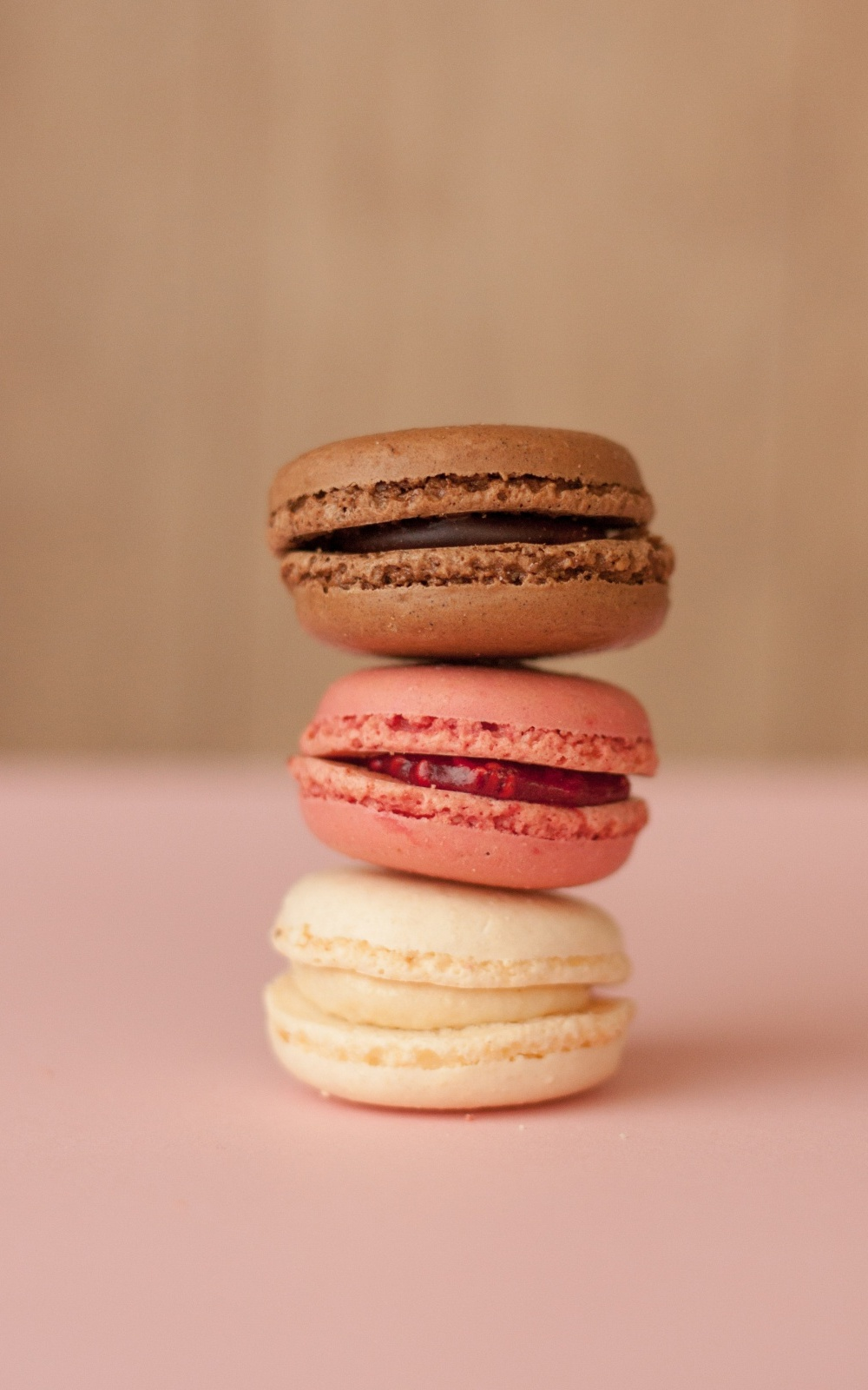 Food Dessert Sweet Macaroons Mobile Wallpaper