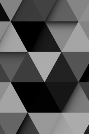 Abstract Black Design Mobile Wallpaper