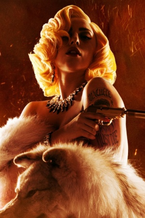 Machete Kills Lady Gaga Mobile Wallpaper