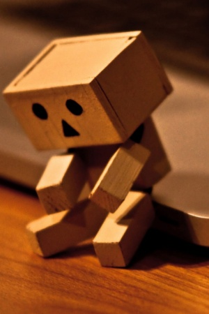 Sad Danbo Mobile Wallpaper