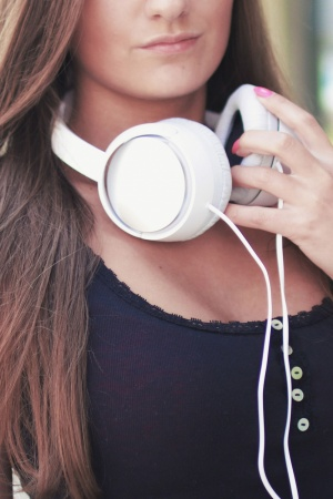 Music Sound Earphones Headphones Mobile Wallpaper