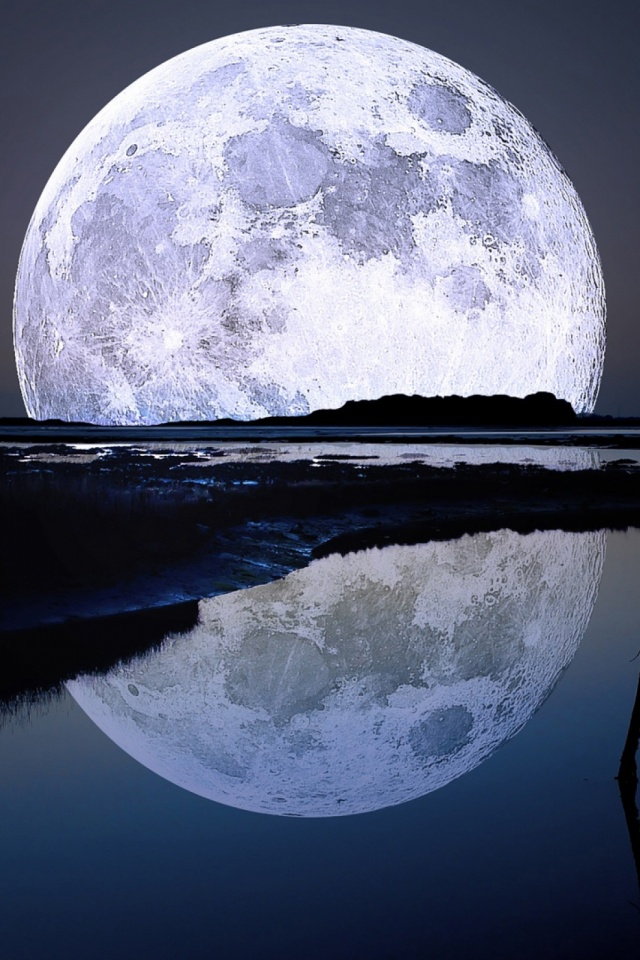 Full Moon Mobile Wallpaper 2022 Views Preview 817