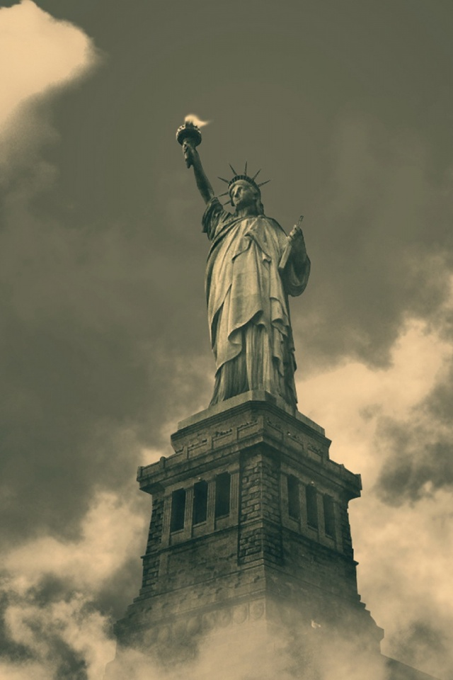 Statue Of Liberty Mobile Wallpaper 855 Views Preview 1170