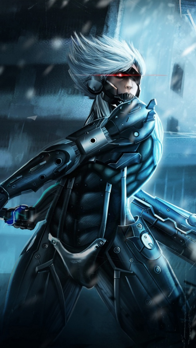 Metal gear rising raiden mobile wallpaper mobiles wall download now voltagebd Image collections