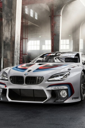 BMW M6 GT3 F13 Sport Mobile Wallpaper