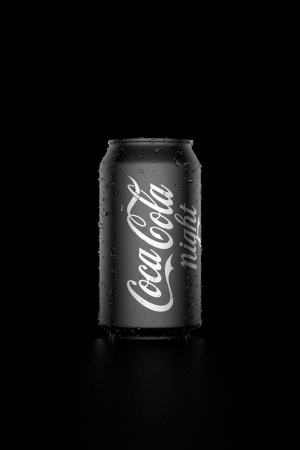 Coke Night Mobile Wallpaper