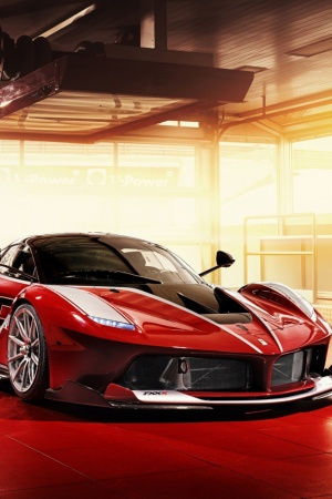 Ferrari FXX K 2015 Mobile Wallpaper